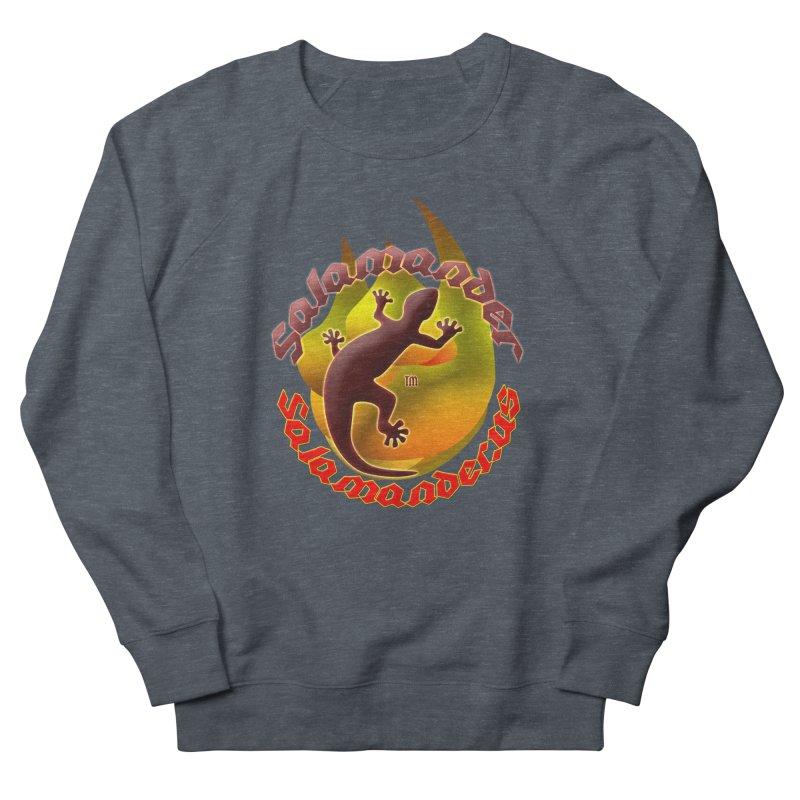 Salamander logo (small flame) Women's French Terry Sweatshirt by Logo Gear & Logo Wear