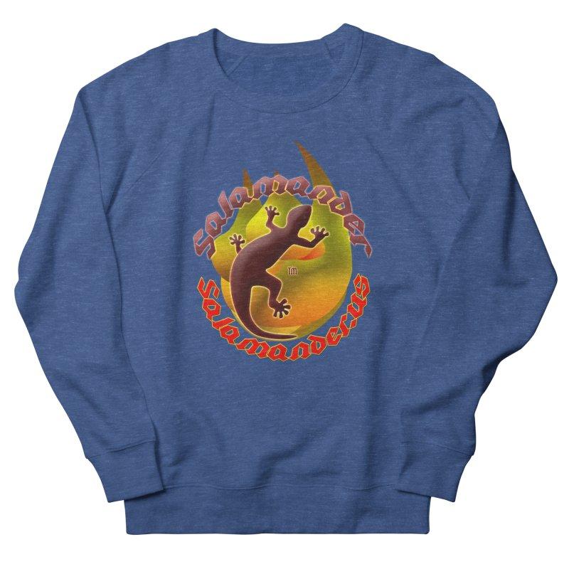 Salamander logo (small flame) Men's Sweatshirt by Logo Gear & Logo Wear