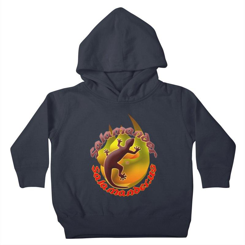 Salamander logo (small flame) Kids Toddler Pullover Hoody by Logo Gear & Logo Wear