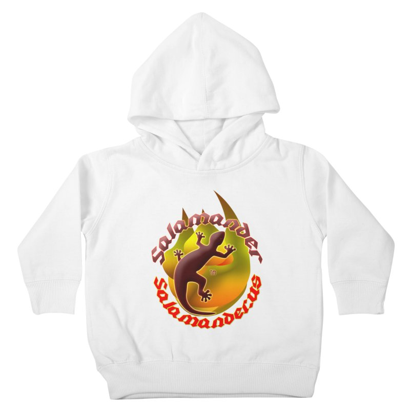 Salamander logo (small flame) Kids Toddler Pullover Hoody by Logo Gear & Logo Wear