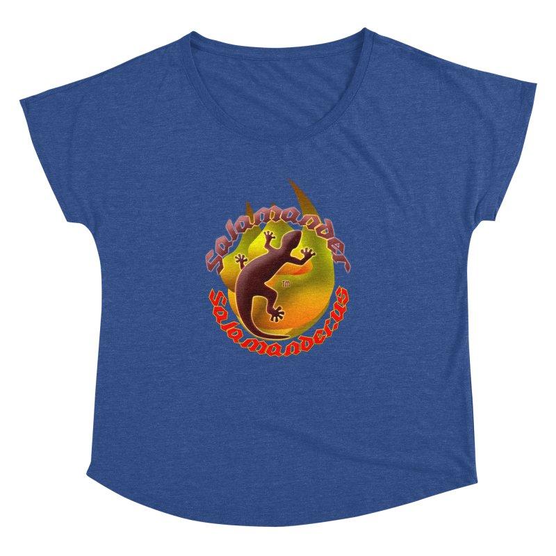 Salamander logo (small flame) Women's Dolman by Logo Gear & Logo Wear