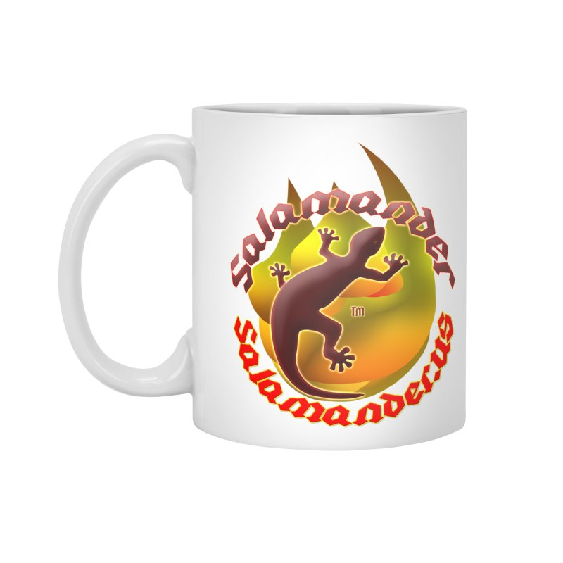 Salamander logo (small flame) Accessories Standard Mug by Logo Gear & Logo Wear