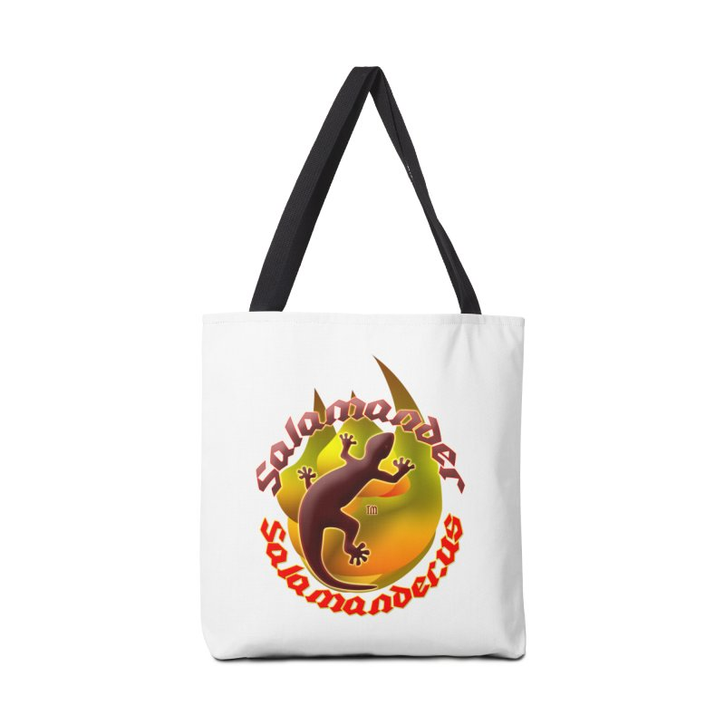 Salamander logo (small flame) Accessories Tote Bag Bag by Logo Gear & Logo Wear