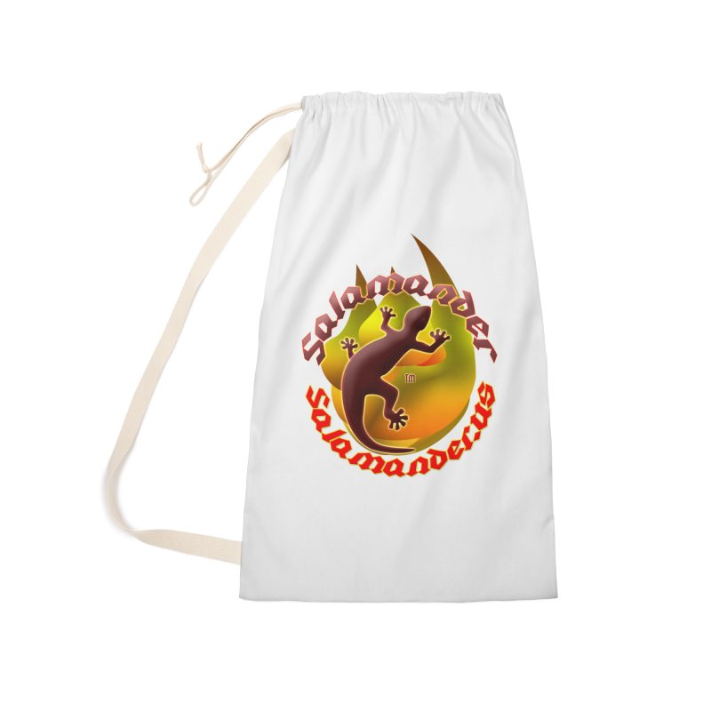 Salamander logo (small flame) Accessories Laundry Bag Bag by Logo Gear & Logo Wear