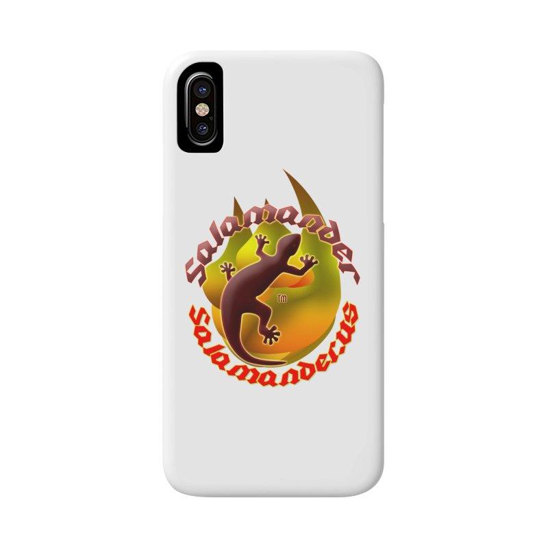 Salamander logo (small flame) Accessories Phone Case by Logo Gear & Logo Wear