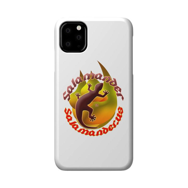 Salamander logo (small flame) Accessories Phone Case by Logo Gear & Logo Wear