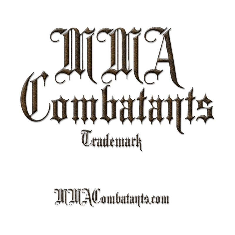 MMA Combatants Trademark - MMACombatants.com Accessories Phone Case by Logo Gear & Logo Wear