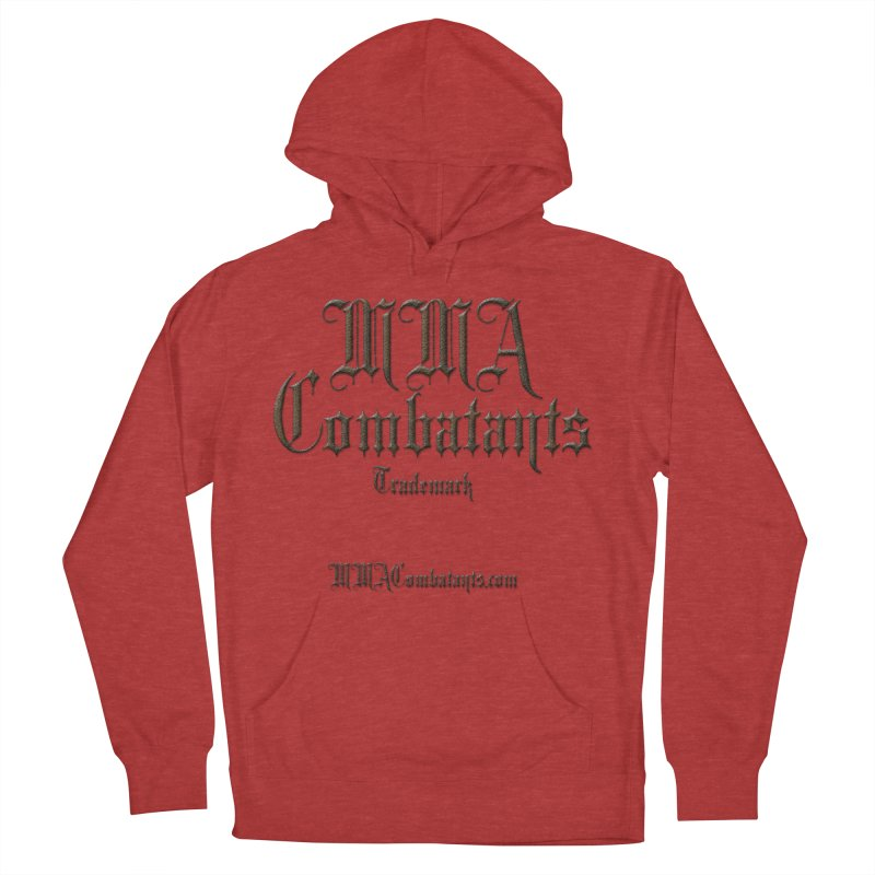 MMA Combatants Trademark - MMACombatants.com Women's French Terry Pullover Hoody by Logo Gear & Logo Wear