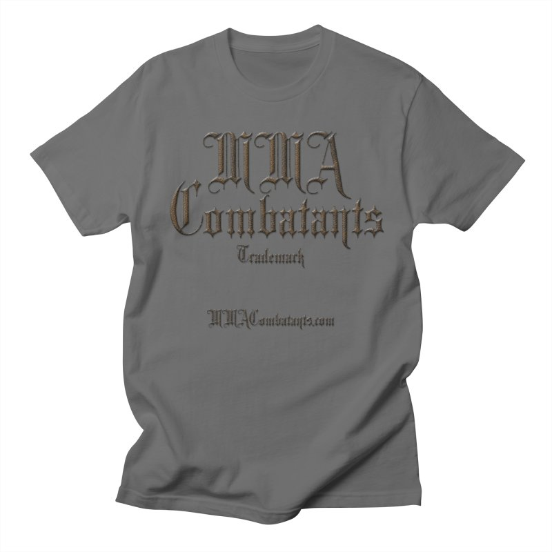 MMA Combatants Trademark - MMACombatants.com Men's T-Shirt by Logo Gear & Logo Wear