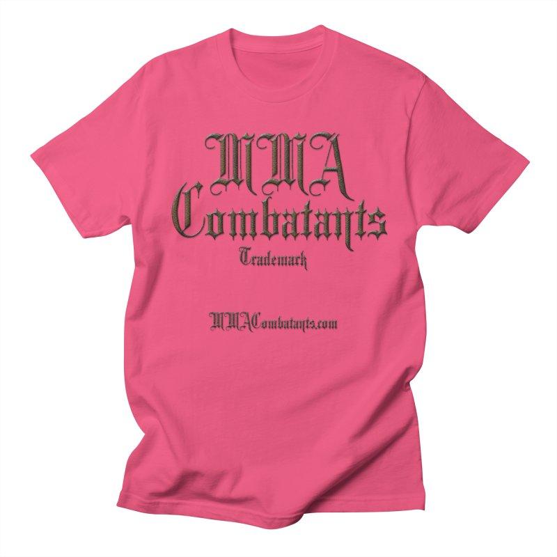 MMA Combatants Trademark - MMACombatants.com Men's Regular T-Shirt by Logo Gear & Logo Wear