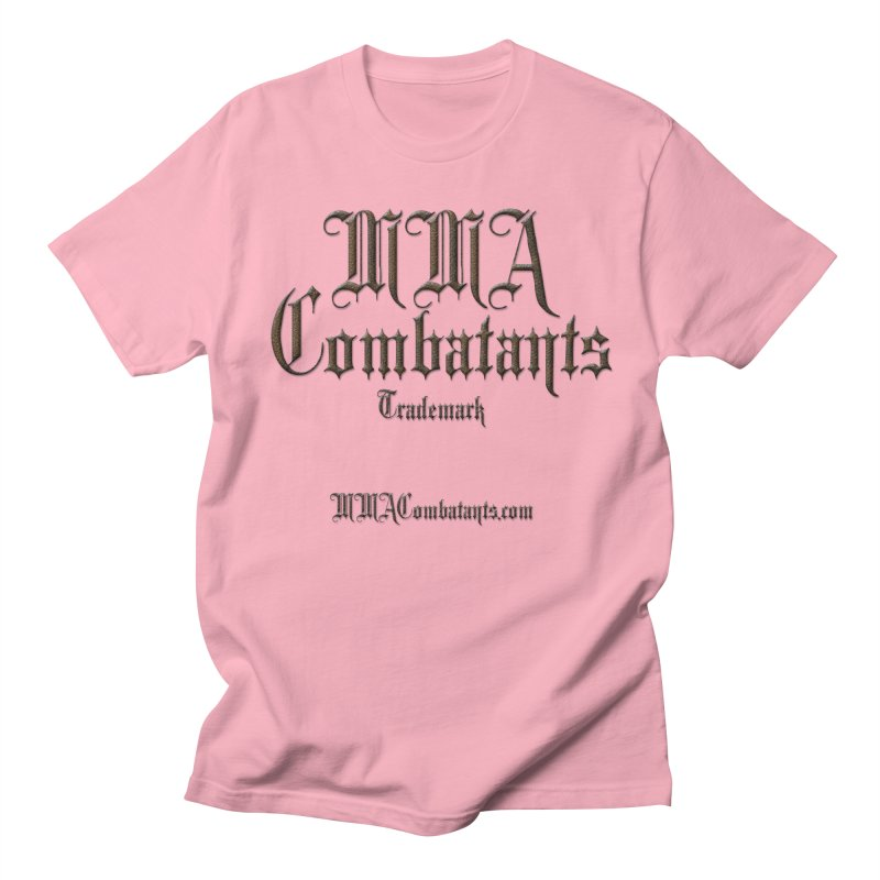 MMA Combatants Trademark - MMACombatants.com Women's Unisex T-Shirt by Logo Gear & Logo Wear