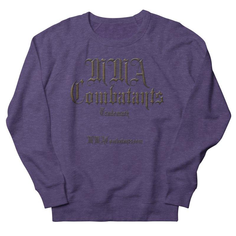 MMA Combatants Trademark - MMACombatants.com Women's Sweatshirt by Logo Gear & Logo Wear