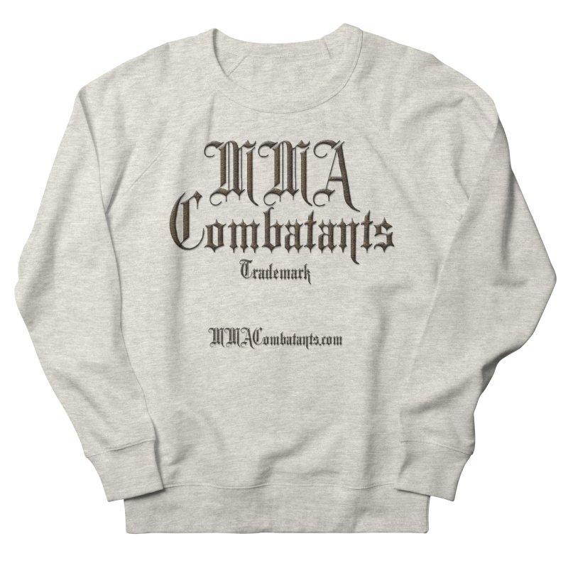 MMA Combatants Trademark - MMACombatants.com Men's French Terry Sweatshirt by Logo Gear & Logo Wear