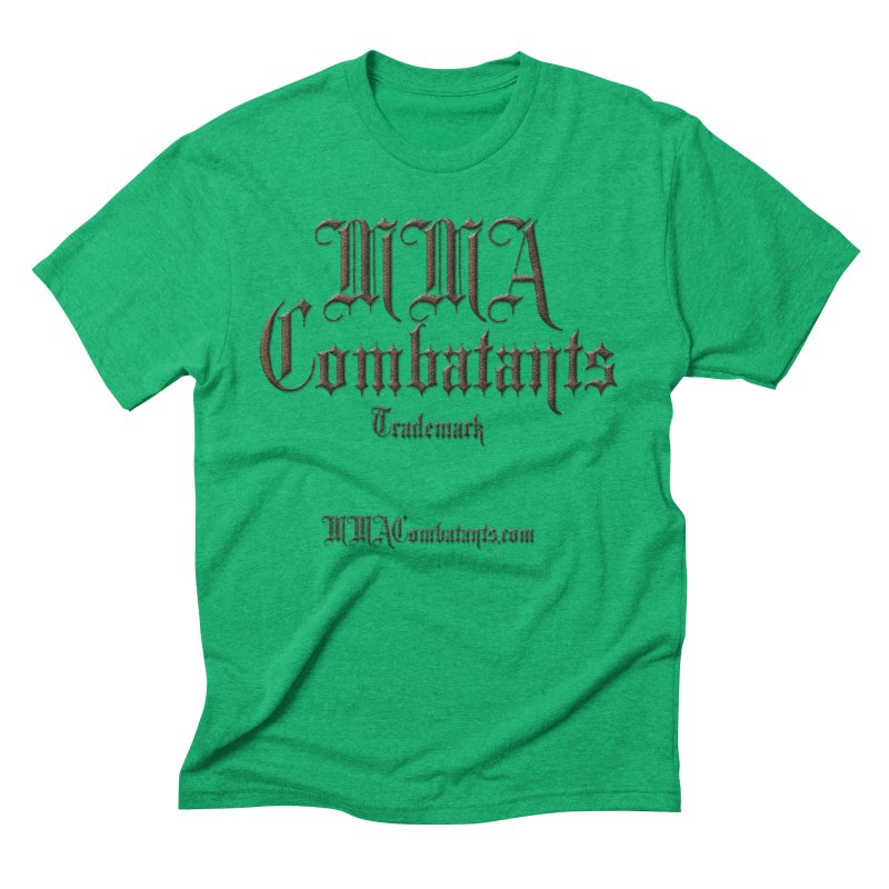 MMA Combatants Trademark - MMACombatants.com Men's Triblend T-Shirt by Logo Gear & Logo Wear