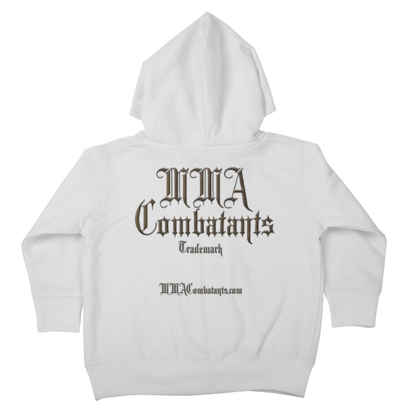 MMA Combatants Trademark - MMACombatants.com Kids Toddler Zip-Up Hoody by Logo Gear & Logo Wear
