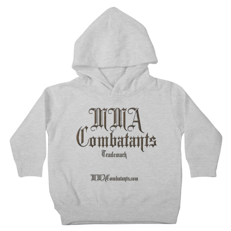 MMA Combatants Trademark - MMACombatants.com Kids Toddler Pullover Hoody by Logo Gear & Logo Wear