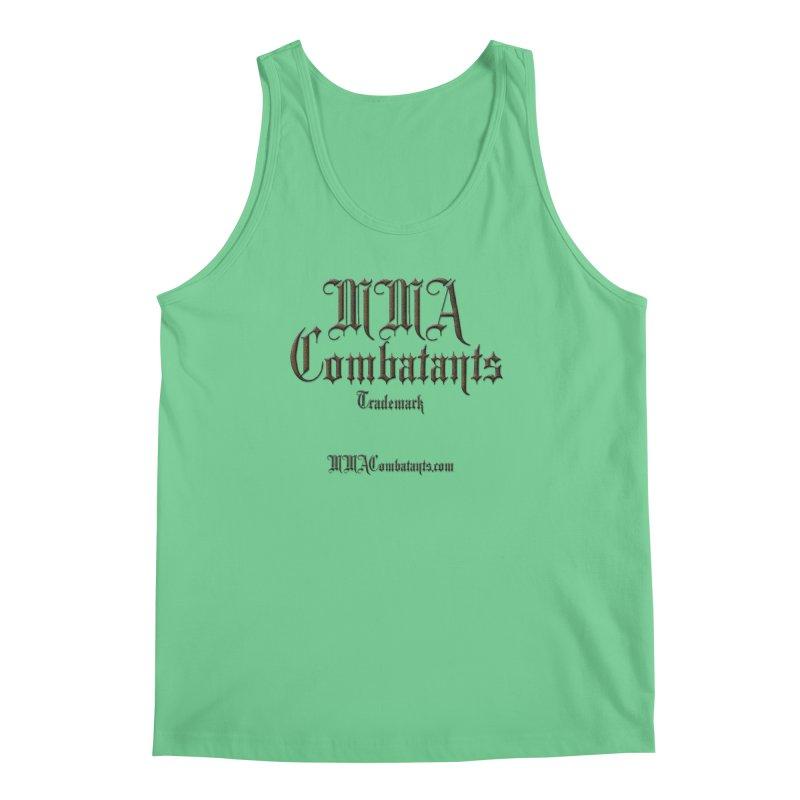 MMA Combatants Trademark - MMACombatants.com Men's Regular Tank by Logo Gear & Logo Wear