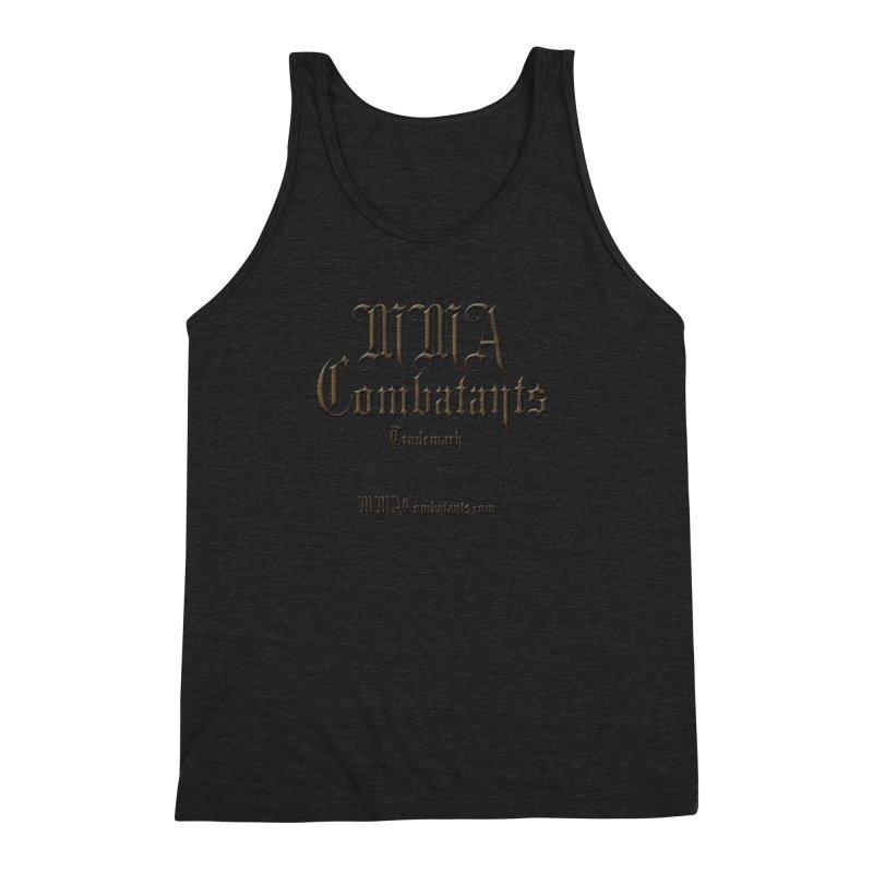MMA Combatants Trademark - MMACombatants.com Men's Triblend Tank by Logo Gear & Logo Wear