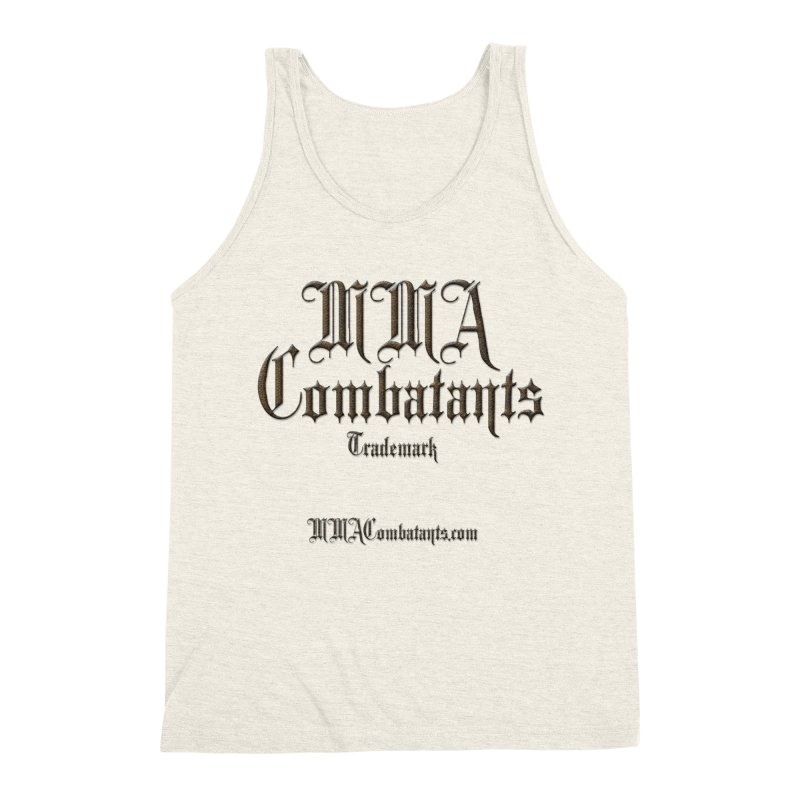 MMA Combatants Trademark - MMACombatants.com Men's Triblend Tank by Logo Gear & Logo Wear
