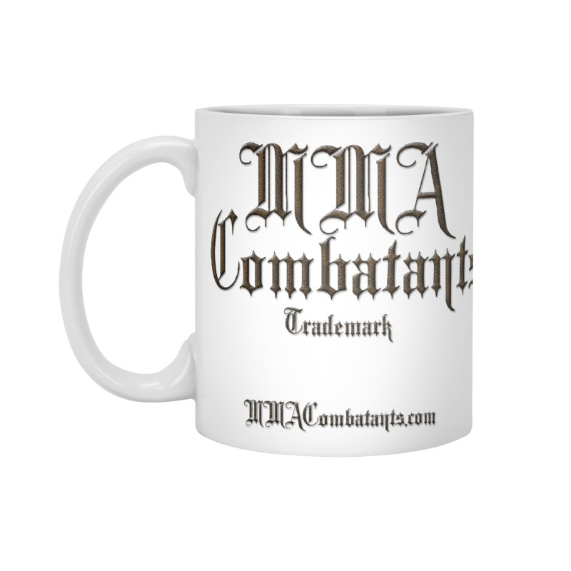 MMA Combatants Trademark - MMACombatants.com Accessories Mug by Logo Gear & Logo Wear
