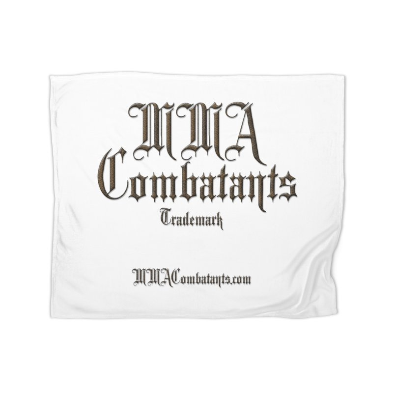 MMA Combatants Trademark - MMACombatants.com Home Blanket by Logo Gear & Logo Wear