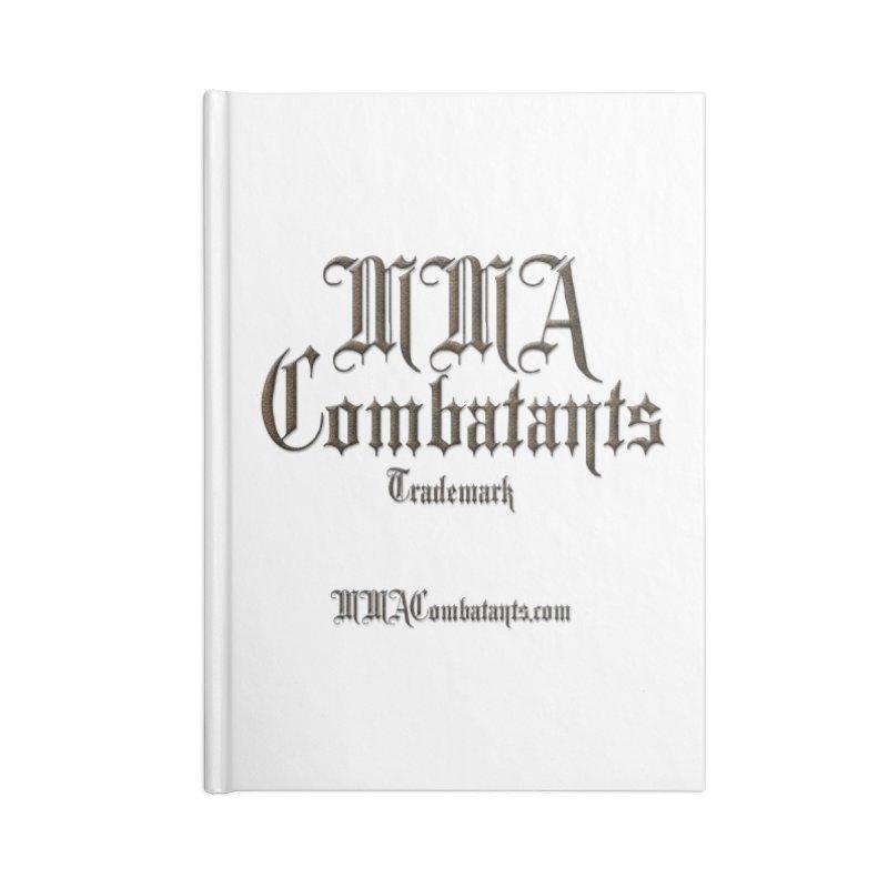 MMA Combatants Trademark - MMACombatants.com Accessories Notebook by Logo Gear & Logo Wear