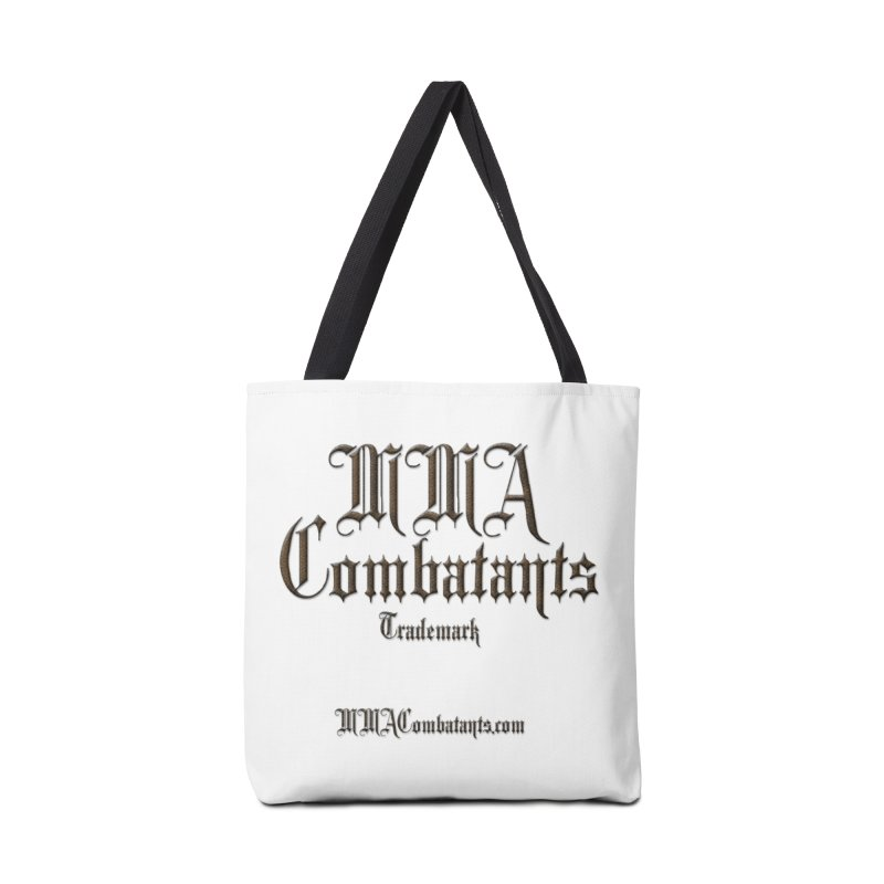 MMA Combatants Trademark - MMACombatants.com Accessories Tote Bag Bag by Logo Gear & Logo Wear