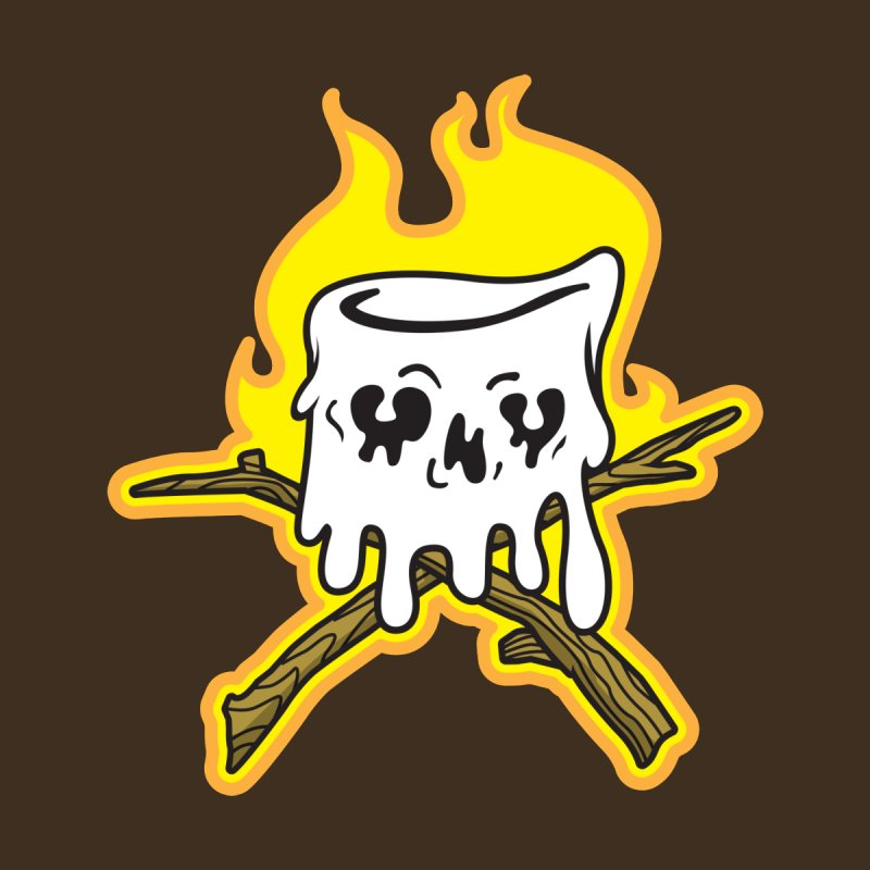 S'more Skull and Cross Sticks Large Front by Logo Mo Doodles, Drawings, and Designs