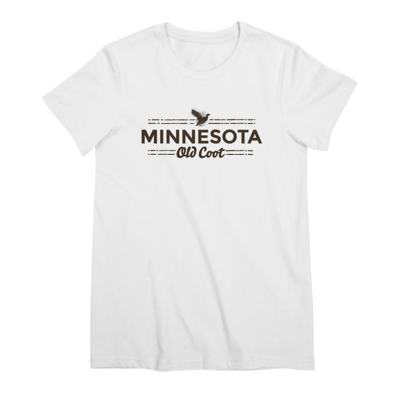 MN Old Coot (dark) Women's Premium T-Shirt by Logo Mo Doodles, Drawings, and Designs