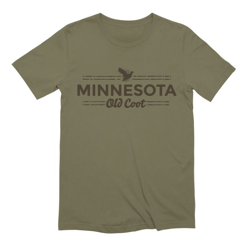 MN Old Coot (dark) Men's Extra Soft T-Shirt by Logo Mo Doodles, Drawings, and Designs