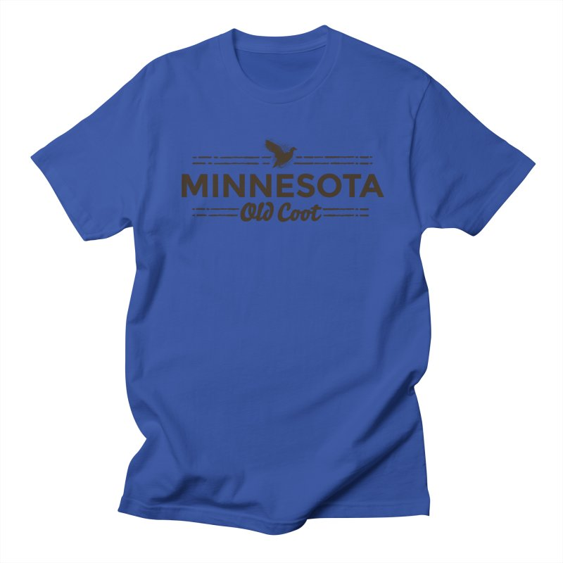 MN Old Coot (dark) Women's Regular Unisex T-Shirt by Logo Mo Doodles, Drawings, and Designs