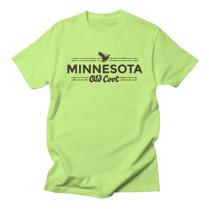 MN Old Coot (dark) Men's Regular T-Shirt by Logo Mo Doodles, Drawings, and Designs