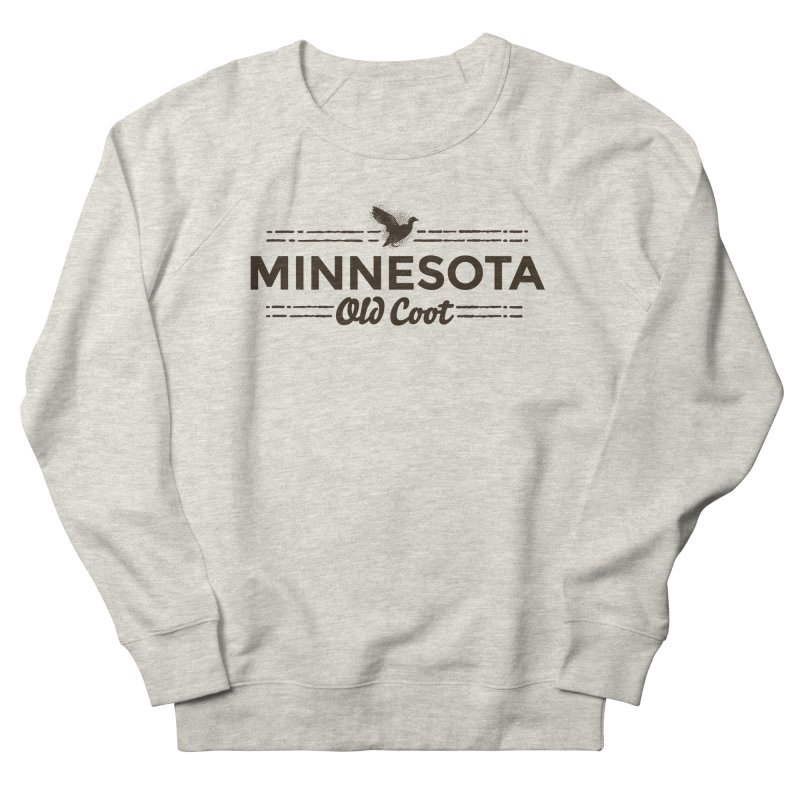 MN Old Coot (dark) Women's French Terry Sweatshirt by Logo Mo Doodles, Drawings, and Designs