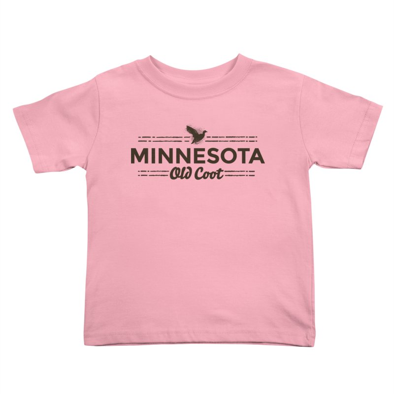 MN Old Coot (dark) Kids Toddler T-Shirt by Logo Mo Doodles, Drawings, and Designs