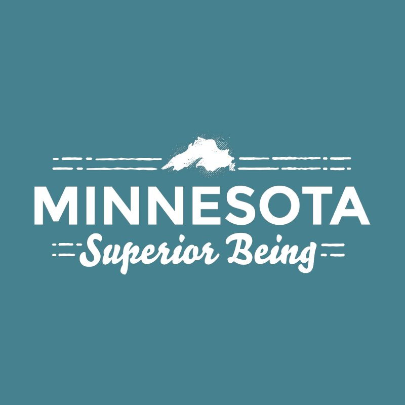 MN Superior Being (white) by Logo Mo Doodles, Drawings, and Designs