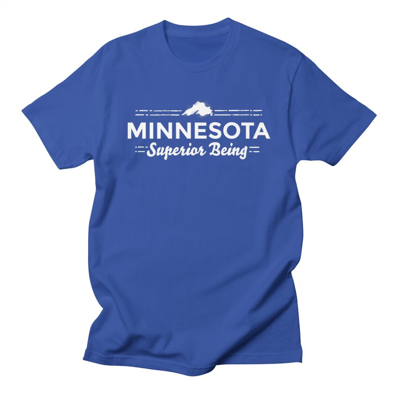 MN Superior Being (white) Women's Regular Unisex T-Shirt by Logo Mo Doodles, Drawings, and Designs