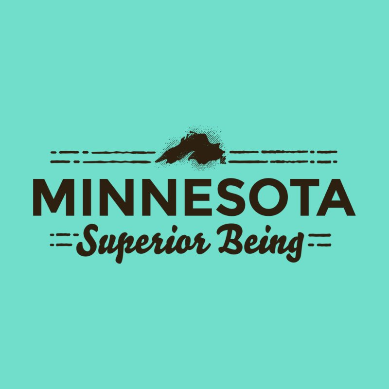 MN Superior Being (dark) by Logo Mo Doodles, Drawings, and Designs