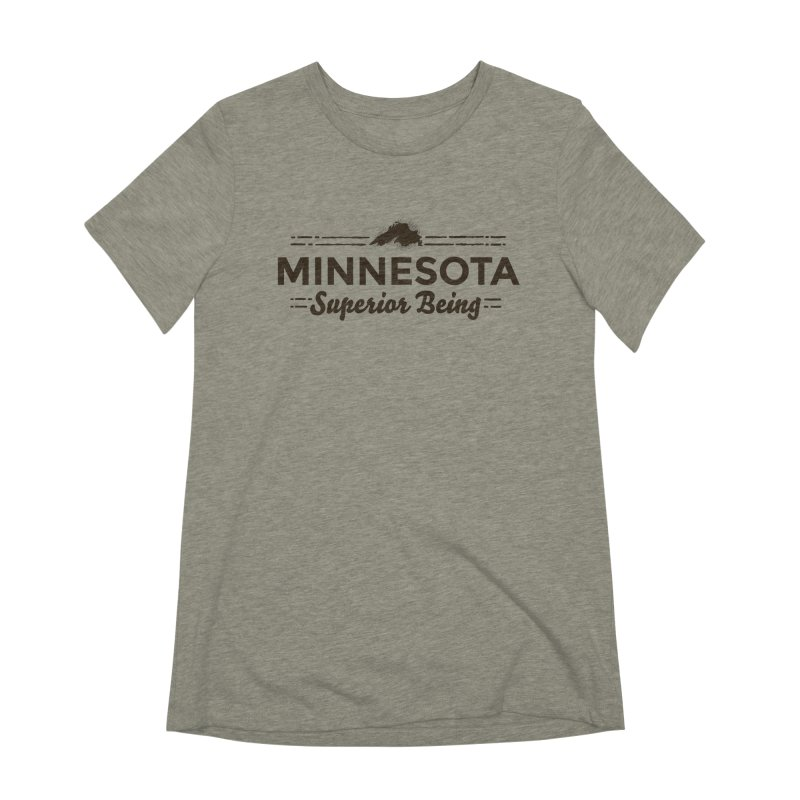 MN Superior Being (dark) Women's Extra Soft T-Shirt by Logo Mo Doodles, Drawings, and Designs