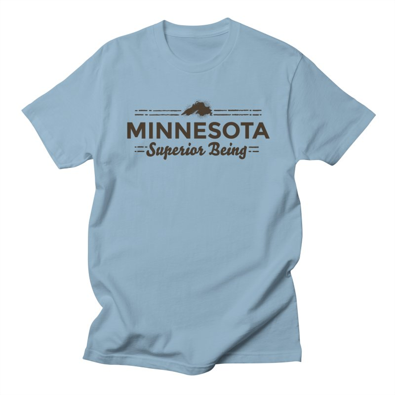 MN Superior Being (dark) Women's Regular Unisex T-Shirt by Logo Mo Doodles, Drawings, and Designs