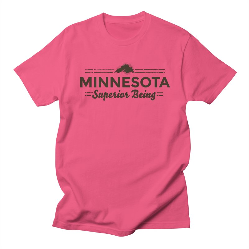 MN Superior Being (dark) Men's Regular T-Shirt by Logo Mo Doodles, Drawings, and Designs