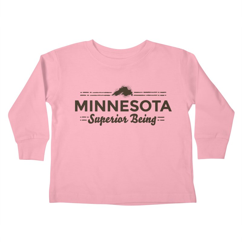MN Superior Being (dark) Kids Toddler Longsleeve T-Shirt by Logo Mo Doodles, Drawings, and Designs