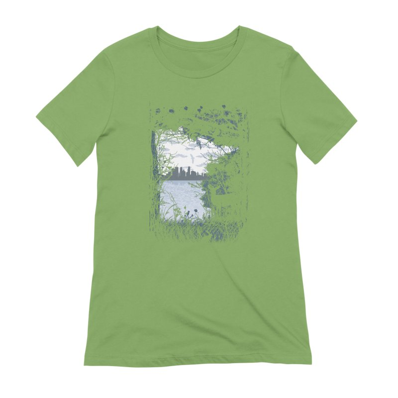 MN Hidden Treasures Women's Extra Soft T-Shirt by Logo Mo Doodles, Drawings, and Designs