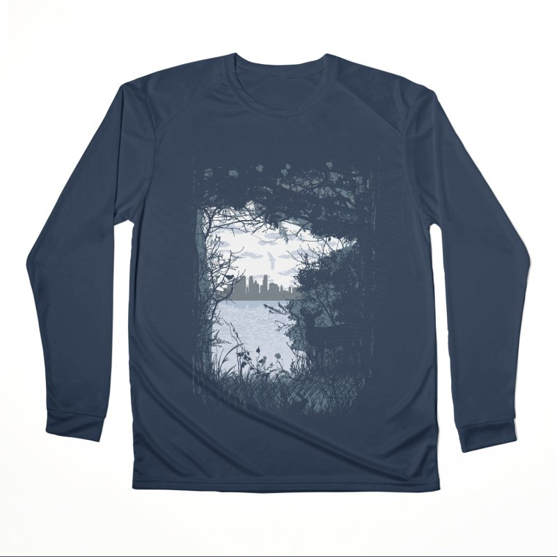 MN Hidden Treasures Men's Performance Longsleeve T-Shirt by Logo Mo Doodles, Drawings, and Designs