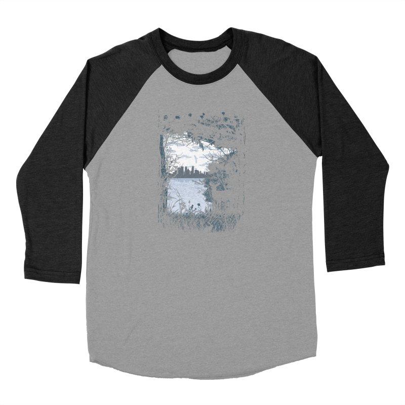 MN Hidden Treasures Women's Baseball Triblend Longsleeve T-Shirt by Logo Mo Doodles, Drawings, and Designs