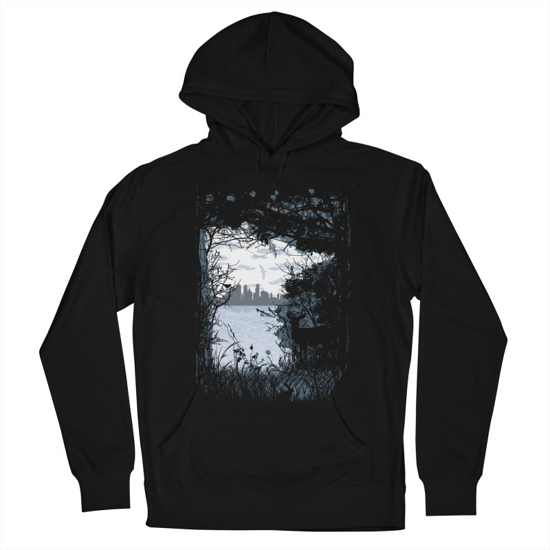 MN Hidden Treasures Men's French Terry Pullover Hoody by Logo Mo Doodles, Drawings, and Designs