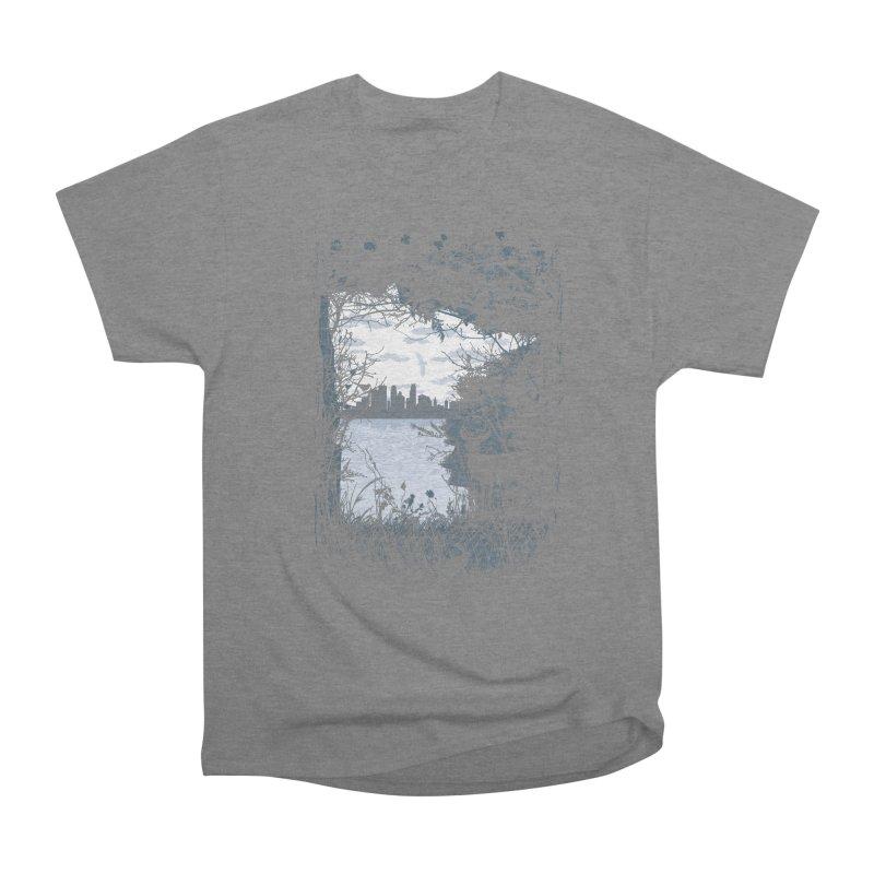 MN Hidden Treasures Men's Heavyweight T-Shirt by Logo Mo Doodles, Drawings, and Designs