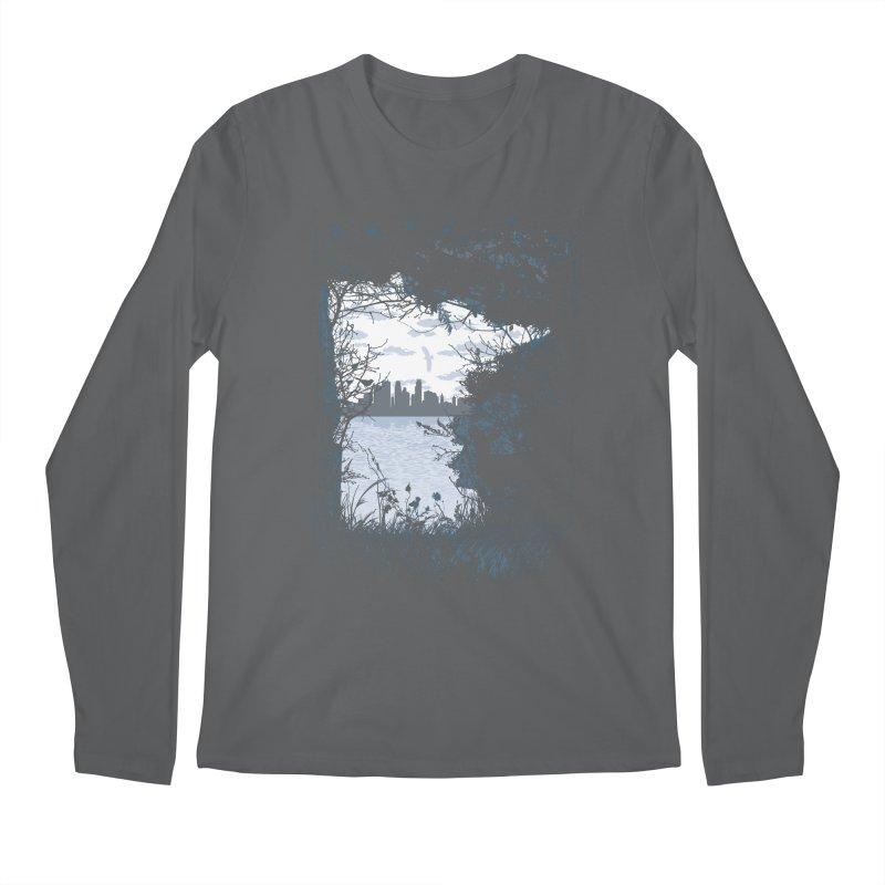 MN Hidden Treasures Men's Longsleeve T-Shirt by Logo Mo Doodles, Drawings, and Designs