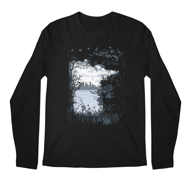 MN Hidden Treasures Men's Regular Longsleeve T-Shirt by Logo Mo Doodles, Drawings, and Designs