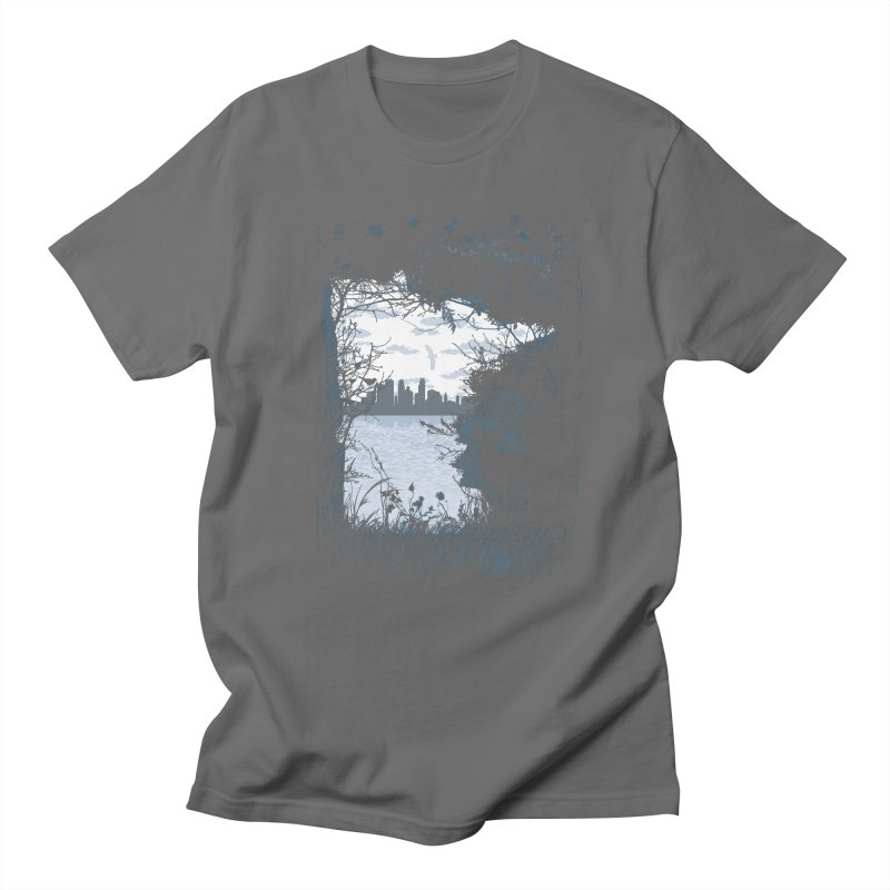 MN Hidden Treasures Men's T-Shirt by Logo Mo Doodles, Drawings, and Designs