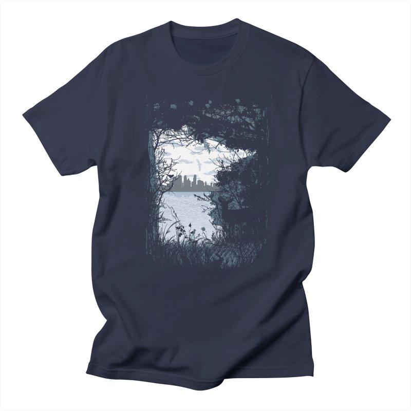 MN Hidden Treasures Men's Regular T-Shirt by Logo Mo Doodles, Drawings, and Designs